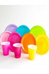 SOLID COLOUR TABLEWARE