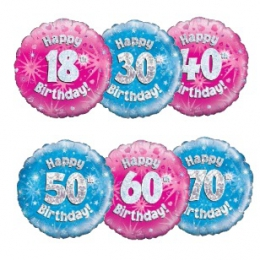 AGE SPECIFIC & MILESTONE BIRTHDAYS