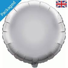 18 INCH FOIL ROUND BALLOON SILVER