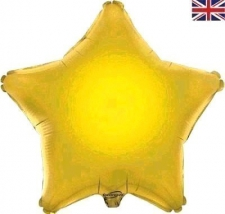 19 INCH FOIL DÉCOR STAR GOLD STAR