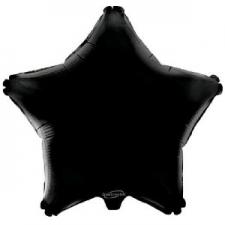19 INCH FOIL STAR BALLOON BLACK