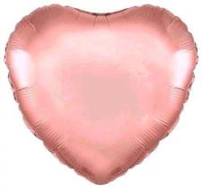 18 INCH FOIL HEART ROSE GOLD