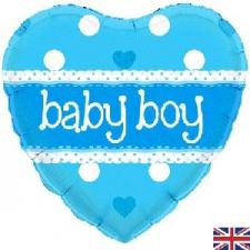 18 INCH FOIL BABY BOY BALLOON