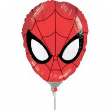 14 INCH FOIL SPIDERMAN HEAD