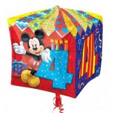 CUBE MICKEY MOUSE BALLOON CUBES AGE 4