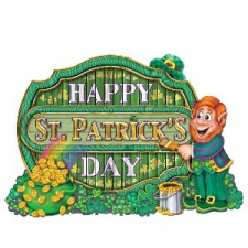 ST PATRICKS DAY CO DAY SIGN 11.5 INCH