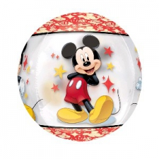 ORBZ MICKEY MOUSE BALLOON CLEAR