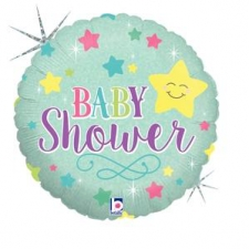 18 INCH FOIL BABY SHOWER STAR