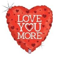 18 INCH FOIL LOVE YOU MORE