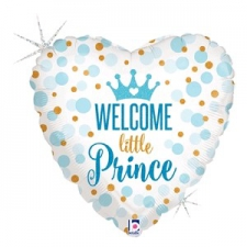 18 INCH FOIL BABY BALLOON PRINCE