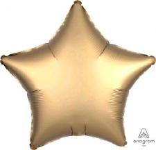 18 INCH FOIL DECOR SATIN GOLD
