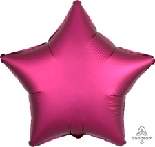 18 INCH FOIL DÉCOR SATIN PINK DARK