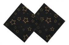 STARS SERVIETTES 12's 33cm