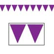 BUNTING SOLID PURPLE