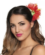 HAIE ACCESSORY HIBISCUS RED