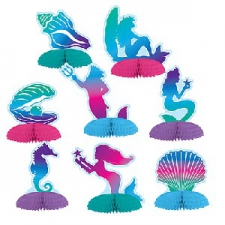 MERMAID CENTRE PIECES 8S