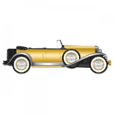 GREAT 20S ROADSTER CUTOUT 4FOOUT3INCHES