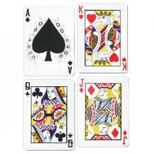 CASINO CUTOUTS CARDS 4'S