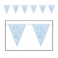 BABY BUNTING FLAGS ITS A BOY