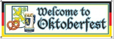 OCTOBERFEST SIGN 1.5M X 54CM
