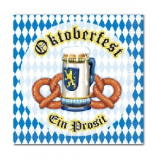 OCTOBERFEST BEVERAGE NAPKINS