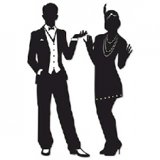 GREAT 20S SILHOUETTES 2S 36INCH