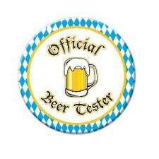 OCTOBERFEST BEER TESTER BUTTON