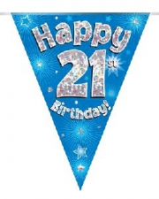 BUNTING BLUE 21ST