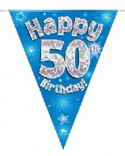 BUNTING BLUE 50TH