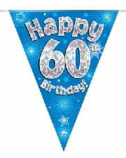 BUNTING BLUE 60TH
