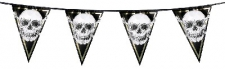 PIRATE BUNTING 15 FLAGS 6m 30X20CM