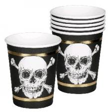 PIRATE CUPS 6's 25cl
