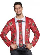 PHOTOREALISTIC SHIRT FANCY CHRISTMAS XL