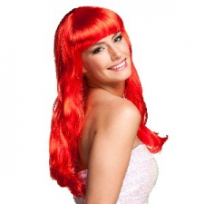 WIG CHIQUE LONG RED