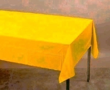 SOLID COLOUR SCHOOL BUS YELLOW CLOTHS