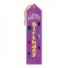 AWARD RIBBON HAPPY BIRTHDAY