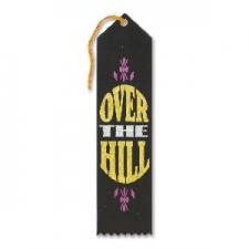 AWARD RIBBON OVER THE HILL