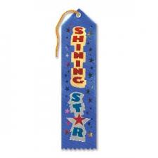 AWARD RIBBON SHINNING STAR