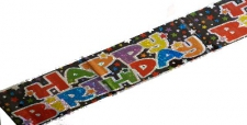 BANNER HAPPY BIRTHDAY STARS
