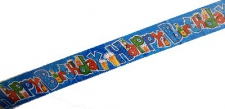 BANNER HAPPY BIRTHDAY MALE BEER