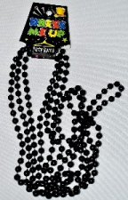 BEADS 84CM BLACK 3pcs