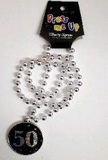 NECKLACE DISC AGE 50
