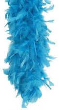 FEATHER BOA BLUE LIGHT