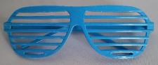 GLASSES GRID BLUE