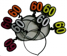 HEADPIECE AGE 60 ASSORTED