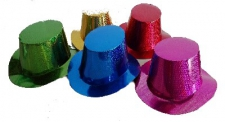 HAT HOLOGRAPHIC PAPER TOP HAT