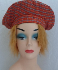 HAT SCOTTISH WITH HAIR
