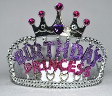 TIARA HAPPY BIRTHDAY PRINCESS