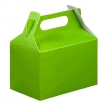 PARTY BOXES LIME GREEN 8s
