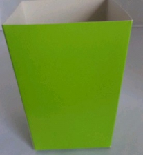 POPCORN BOX SMALL LIME GREEN
